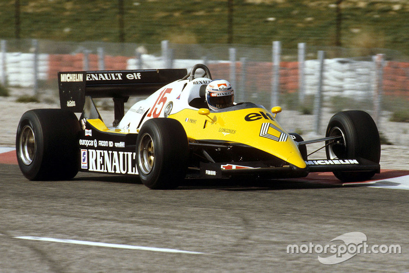 1983: Alain Prost, Renault RE40