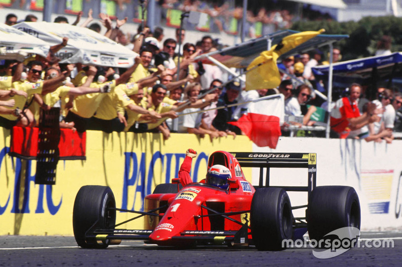 Alain Prost, Ferrari l'emporte