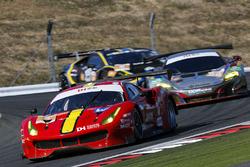#5 DH Racing Ferrari 488 GT3: Stéphane Lemeret, Michele Rugolo, Mattieu Vaxiviere