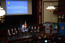 Christian Estrosi, Président de la Région Provence-Alpes-Côte d'Azur s'exprime