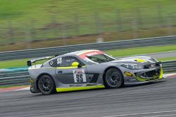 #55 Simpson Motorsport Ginetta G55 GT4: Charlie Robertson, Colin White, Tom Hibbert