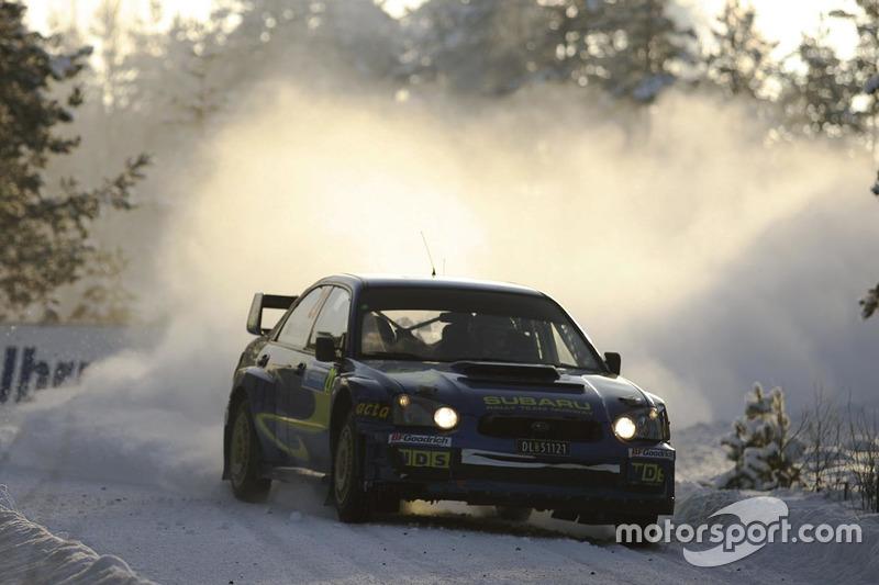Мадс Остберг, Оле-Крістіан Уннеруд, Subaru Impreza WRC