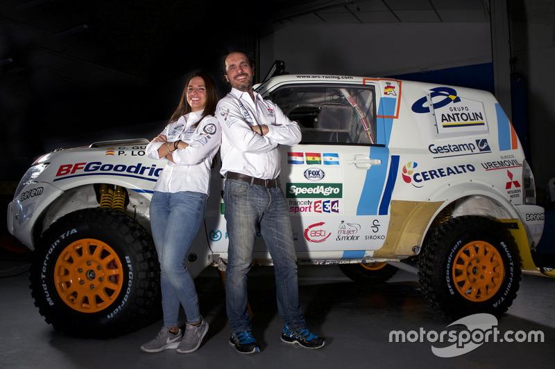 Cristina Gutiérrez, Pedro López, Mitsubishi