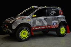 La Panda per la Dakar 2017