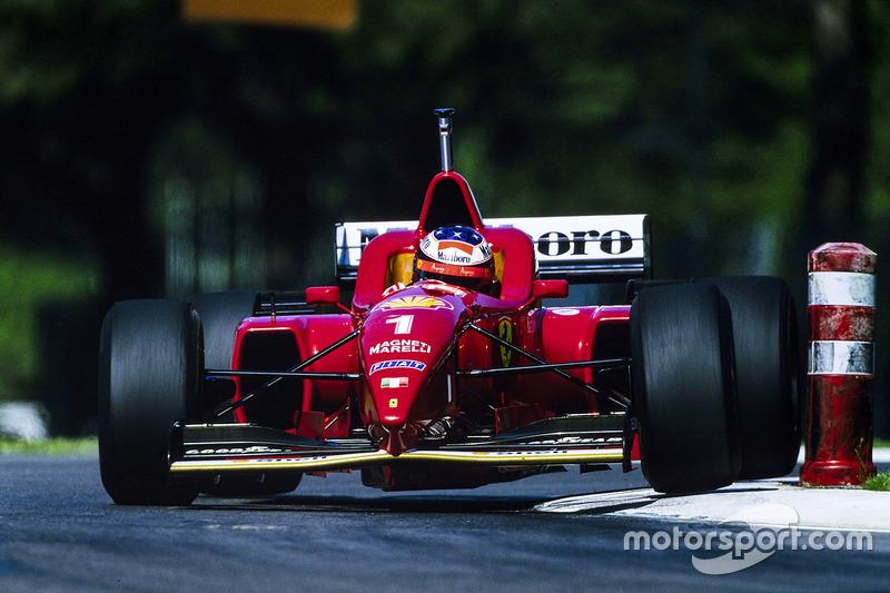 1996: Ferrari F310 (три победы, 2-е место в КК)
