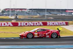 #3 DH Racing Ferrari 488GT3:Rino Mastronardi,Alex Riberas,Olivier Beretta