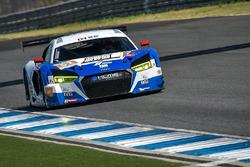 #51 KCMG Audi R8 LMS GT3: Go Max, Toru Tanaka, Tetsuya Tanaka