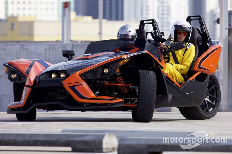 Главный редактор Motorsport.com Чарльз Брэдли, Polaris Slingshot