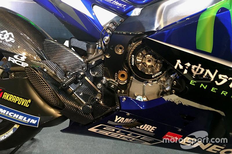 Деталь 2017 Yamaha YZR-M1