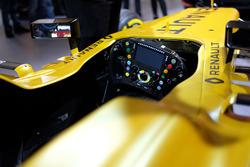 Renault Sport F1 Team, RS16: Lenkrad