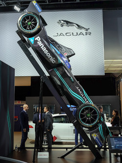 A Jaguar Racing Formula E car