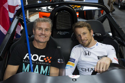 Team Great Britain David Coulthard and Jenson Button