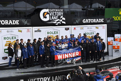 Podium GTLM: first place Joey Hand, Dirk Müller, Sébastien Bourdais, Ford Performance Chip Ganassi Racing