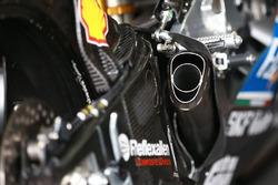 Detalle de moto de  Jorge Lorenzo, Ducati Team