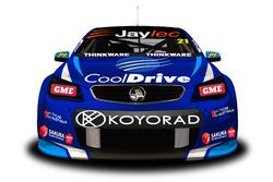 Brad Jones Racing renk düzeni tanıtımı