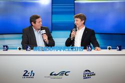 Gerard Neveu, WEC-Boss mit Bruno Vandestick