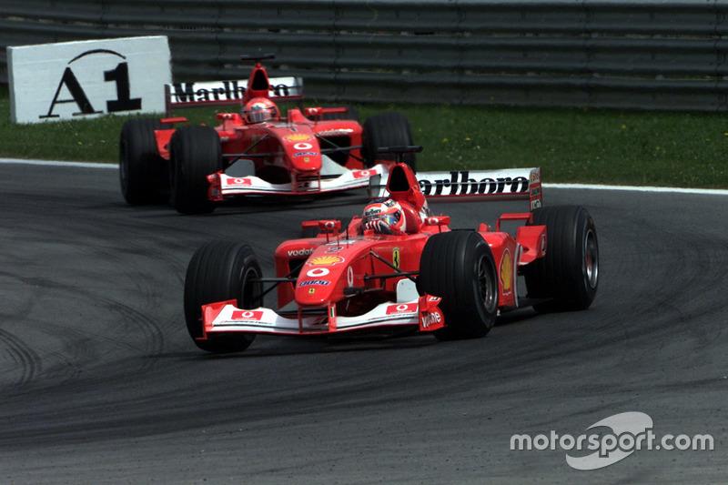 2002-2003: Ferrari F2002