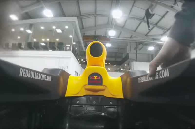 Повітрозабірник Red Bull RB13