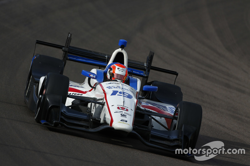 #19 Ed Jones, Dale Coyne Racing / Honda