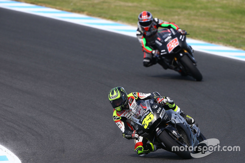 Cal Crutchlow, Team LCR Honda, Sam Lowes, Aprilia Racing Team Gresini