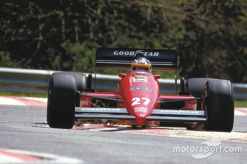 Michele Alboreto, Ferrari F187 (1987)