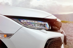 Honda Civic: Frontpartie