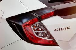 Honda Civic: Rückleuchte