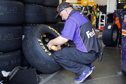 Teammitglied von Denny Hamlin, Joe Gibbs Racing, Toyota