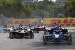 Nicolas Prost, Renault e.Dams; Loic Duval, Dragon Racing