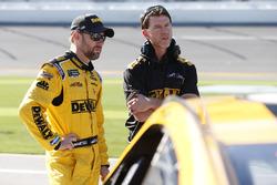 Matt Kenseth, Joe Gibbs Racing, Toyota und Crewchief Jason Radcliff