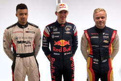 Jann Mardenborough, Team Impul, Pierre Gasly, Team Mugen, Felix Rosenqvist, Team LeMans