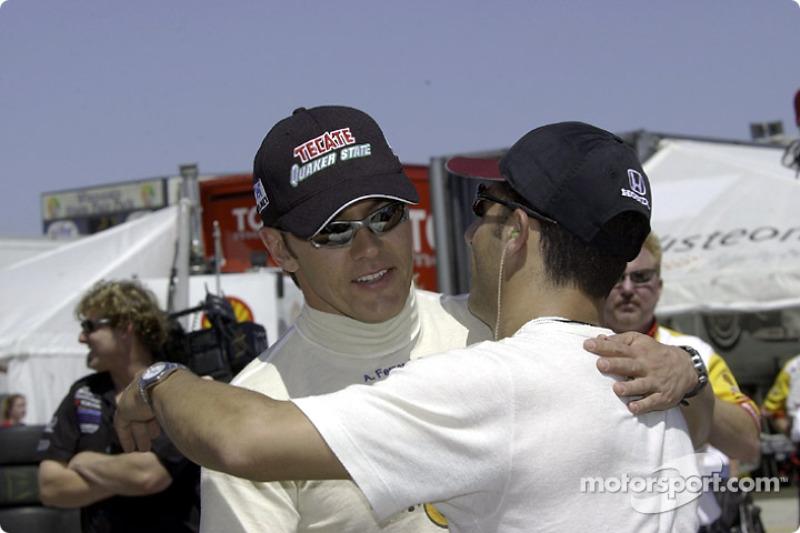 Adrian Fernandez and Tony Kanaan