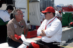 Chip Ganassi chats with Tom Anderson