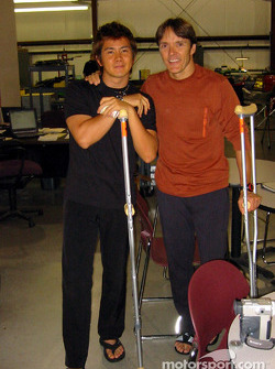 Shinji Nakano and Adrian Fernandez