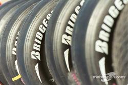 Bridgestone tire stack