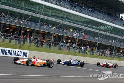 Darren Manning, Michael Andretti and Scott Dixon