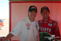 Adrian Fernandez and Luis Diaz