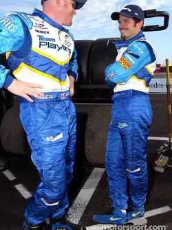 Paul Tracy et Patrick Carpentier