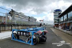 Brands Hatch pitlane