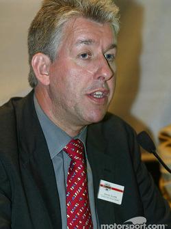 German 500 press conference: David Clare