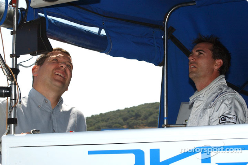 Mauricio Gugelmin et Bryan Herta