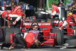 PKV Racing crew members