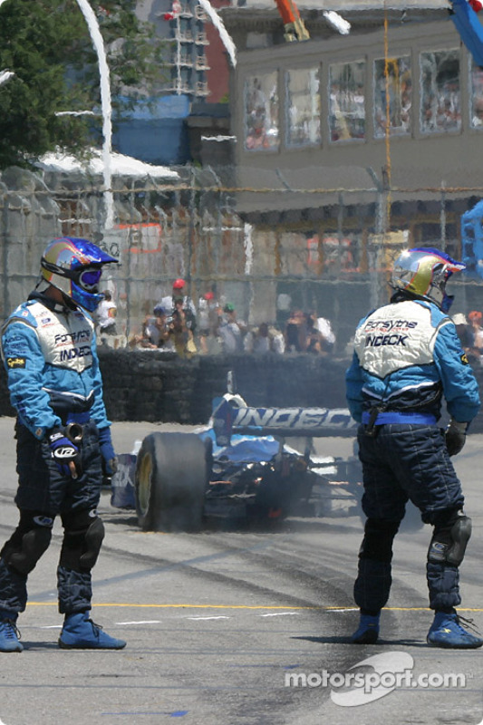 Paul Tracy quitte son stand