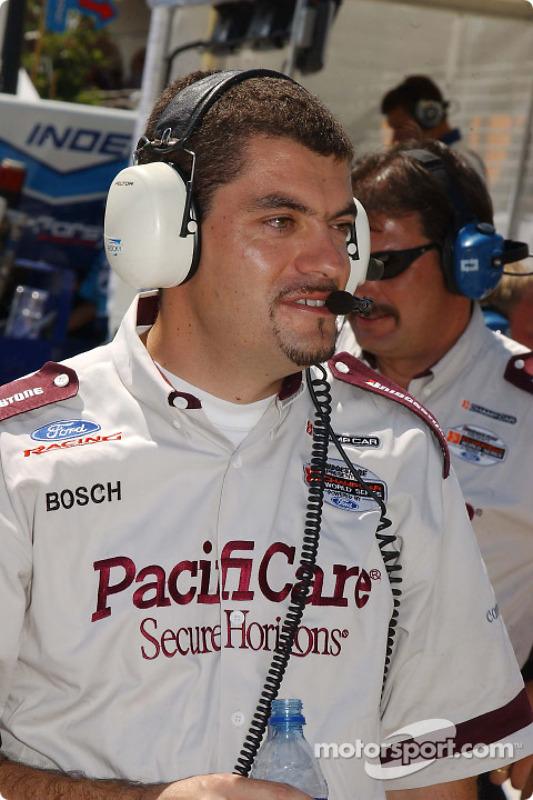 L'ingénieur de course de Bruno Junqueira Guillaume Rocquelin