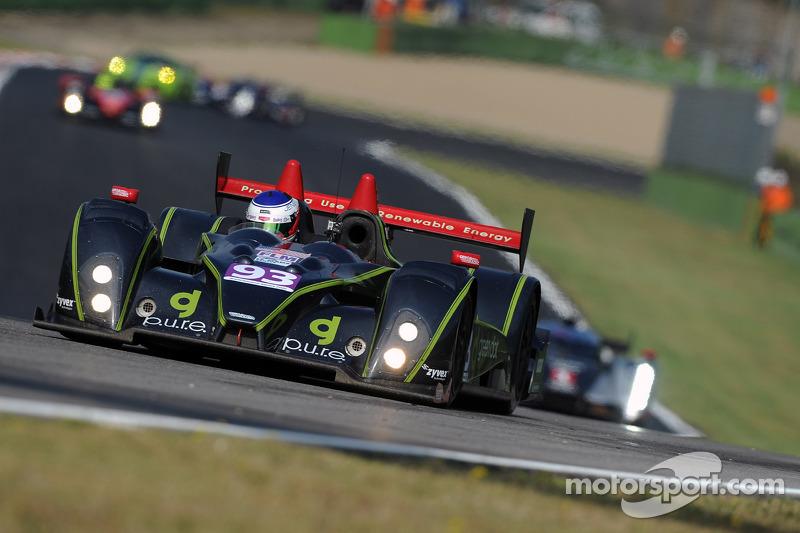 #93 Genoa Racing FLM Oreca-09: Jens Petersen, Elton Julian, Christian Zugel