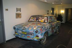 Trabant in the hotel