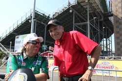 John Force, Bill Bader Sr. (track owner)