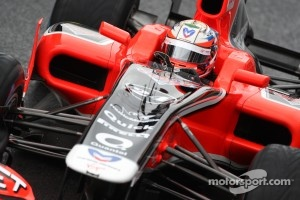 Late debut for 2012 Marussia car