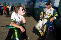 Jimmy Vasser and Tony Kanaan, KV Racing Technology-Lotus