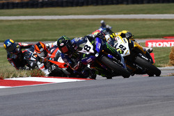 #8 Monster Energy Graves Yamaha, Yamaha YZF-R6: Josh Herrin #69 Richie Morris Racing, Suzuki GSX-R600: Danny Eslick